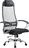 Кресло офисное Metta Комплект 3 / SU-1-BK (темно-серый) -