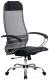 Кресло офисное Metta Комплект 4 / SU-1-BK (серый) -