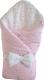 Конверт на выписку Martoo Basik 2 / BS-2-PN/GR (розовый/серый) -