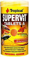 Корм для рыб TROPICAL Supervit Tablets A / 20624 (340шт/250мл) -