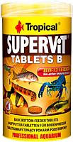 Корм для рыб TROPICAL Supervit Tablets B / 20634 (830шт/250мл) -