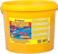 Корм для рыб TROPICAL Vitality & Color / 70438 (11л) -