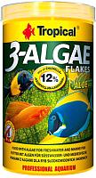 Корм для рыб TROPICAL 3-Algae Flakes / 77164 (250мл) -