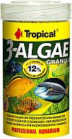 Корм для рыб TROPICAL 3-Algae Granulat / 60524 (250мл) -