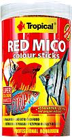 Корм для рыб TROPICAL Red Mico Colour Sticks / 63554 (250мл) -