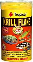 Корм для рыб TROPICAL Krill Flake / 77245 (500мл) -