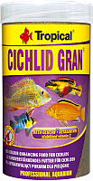 Корм для рыб TROPICAL Cichlid Gran / 60456 (1л) -