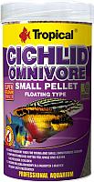 Корм для рыб TROPICAL Cichlid Omnivore Small Pellet / 60954 (250мл) -