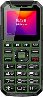 Мобильный телефон BQ Ray BQ-2004 (зеленый/черный) -