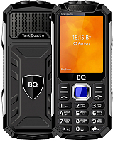 Мобильный телефон BQ Tank Quattro BQ-2819 (черный) -