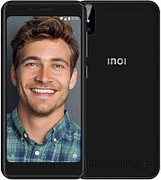 Смартфон Inoi 3 Lite с чехлом и защитным стеклом (черный) -