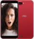 Смартфон Inoi 5i Lite с чехлом (красный) -