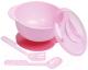 Набор детской посуды Sun Delight 33043 (розовый) -