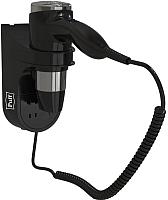 Фен Puff 1600BLB (черный, с дополнительной розеткой) -