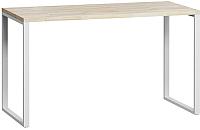 Письменный стол Loftyhome Лондейл 1 / LD040104 (натуральный с белым основанием) -