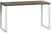 Письменный стол Loftyhome Лондейл 1 / LD040106 (серый с белым основанием) -