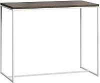Барный стол Loftyhome Бервин / BR050106 (серый с белым основанием) -