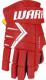 Перчатки хоккейные Warrior Alpha DX5 / DX5G9-RDW11 (красный/белый) -