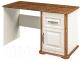 Письменный стол Мебель-Неман Марсель МН-126-17 (кремовый/дуб кантри) -