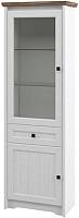 Шкаф Мебель-Неман Тиволи МН-035-01 (белый структурный/дуб стирлинг) -