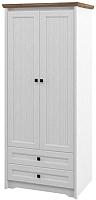 Шкаф Мебель-Неман Тиволи МН-035-21 (белый структурный/дуб стирлинг) -