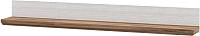 Полка Мебель-Неман Тиволи МН-035-15 (белый структурный/дуб стирлинг) -
