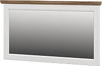 Зеркало Мебель-Неман Тиволи МН-035-17 (белый структурный/дуб стирлинг) -