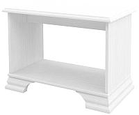 Журнальный столик Мебель-Неман Юнона МН-132-28 (белый текстурный) -