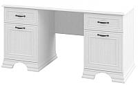 Письменный стол Мебель-Неман Юнона МН-132-27 (белый текстурный) -