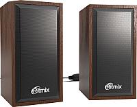 Мультимедиа акустика Ritmix SP-2052w (вишневый) -