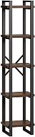 Стеллаж Loftyhome Лондейл 40 / LD010301 (коричневый) -