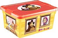 Ящик для хранения Бытпласт Маша и медведь 4313880 -