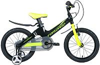 Детский велосипед Forward Cosmo 16 2.0 2020 / RBKW0LMG1014 (черный/зеленый) -