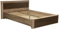 Двуспальная кровать Олмеко Фантазия 34.25-02 (дуб каньон) -