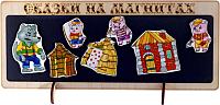 Кукольный театр Нескучные игры Сказки на магнитах. Три поросенка / К-0543/5 -