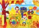 Развивающий центр WoodLand Toys Бизиборд. Осень / 112310 -