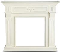 Портал для камина Смолком Beethoven G (белый/ваниль) -