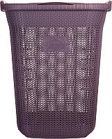 Корзина для белья Violet House Виолетта / 0261 (65л, сливовый) -