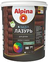 Лазурь для древесины Alpina Аква (900мл) -