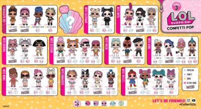 Lol Original Series 3 Confetti Pop 551539e5c V кукла с