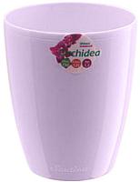 Кашпо Santino Orchidea Twin / D2 FLA (лавандовый) -