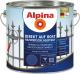 Эмаль Alpina Direkt auf Rost Hammerschlageffekt (2.5л, коричневый) -