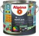 Эмаль Alpina Aqua Buntlack. База 3 (2.35л, шелковисто-матовый) -