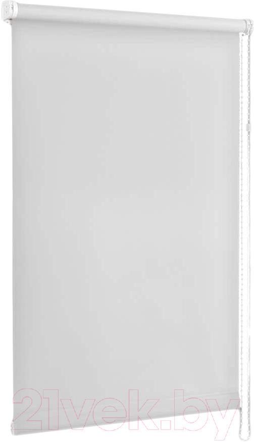 Купить Рулонная штора Delfa, Сантайм Уни СРШ-01 МД100 (57x170, белый), Беларусь, ткань