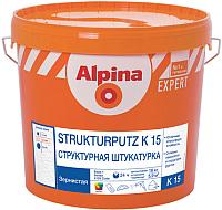 Штукатурка Alpina Expert Strukturputz K15. База 1 (16кг) -
