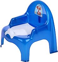 Детский горшок Dunya 11102 (синий) -