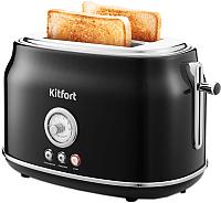 Тостер Kitfort KT-2038-1 (черный) -