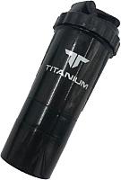 Шейкер спортивный Bradex Titanium SF0531 (черный) -