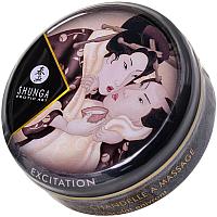 Эротическое массажное масло Shunga Excitation шоколад / 274609 (30мл) -
