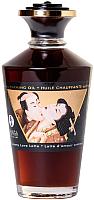 Эротическое массажное масло Shunga Creamy Love Latte разогревающее / 2214 (100мл) -